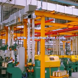 Up Brass Casting Machine 8mm Copper Rod Upcasting Production Line