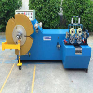 Automatic Coiling Wire Machine Cable Take up Machine