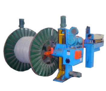 cantilever type cable pay off machine
