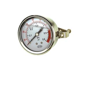 YTN-Z耐震压力表(轴向无边)