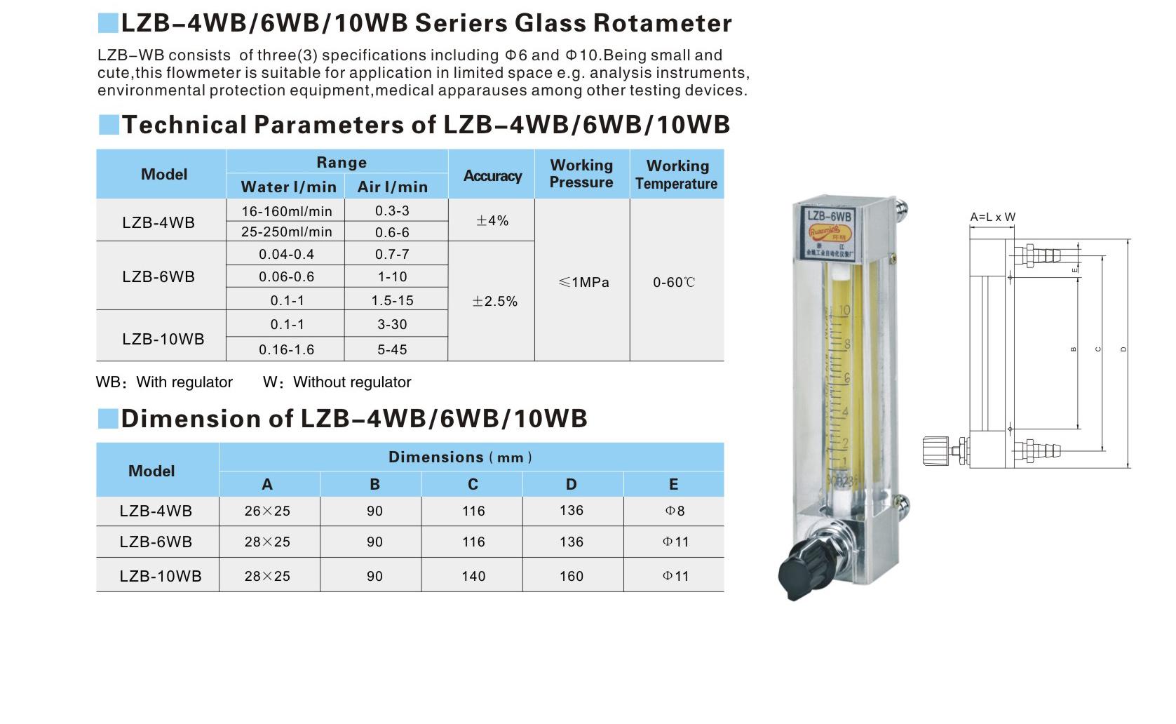 LZB-4WB  6WB  10WB series