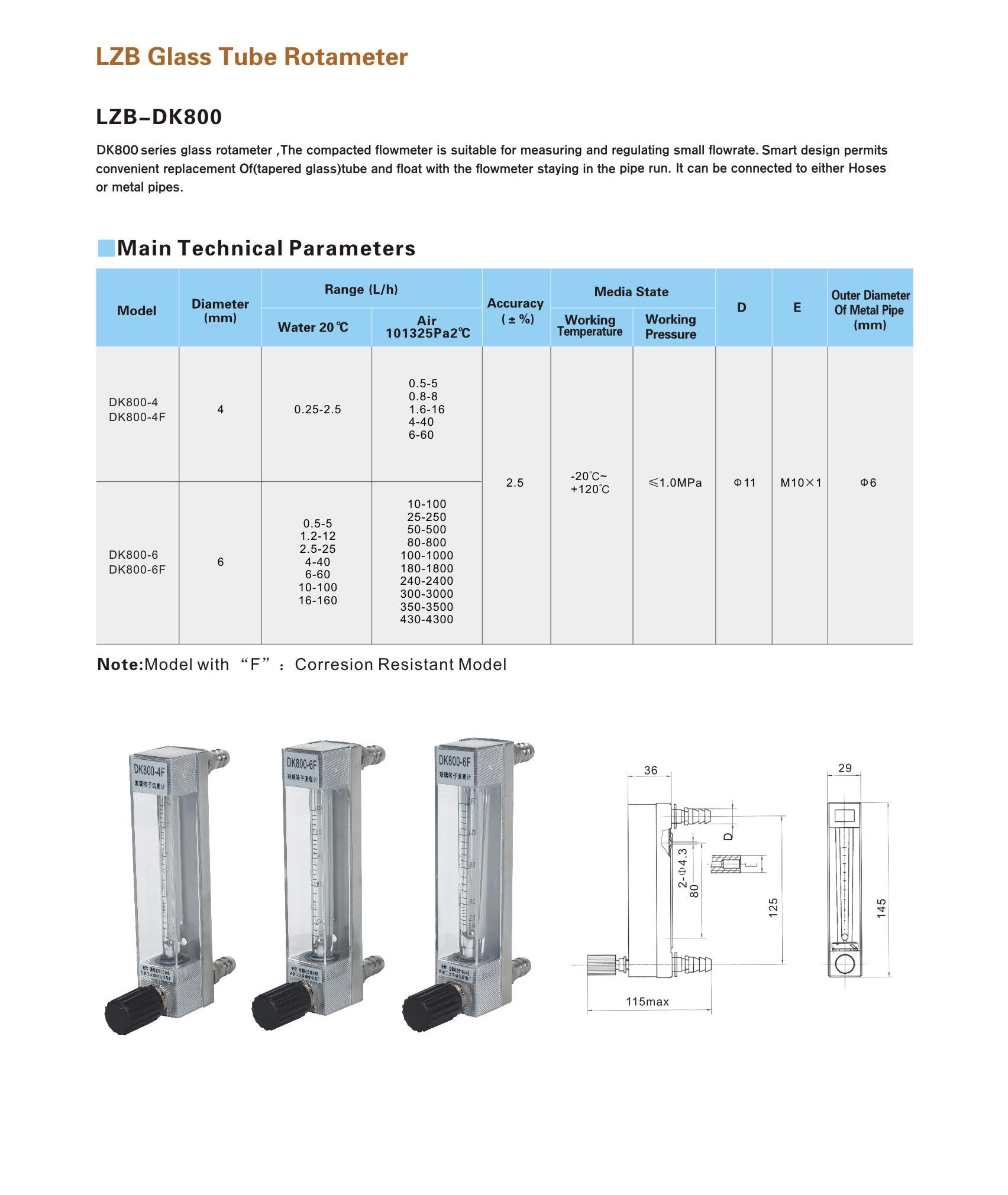 LZB-DK800 series