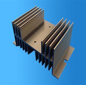 Aluminium-Kühlkörper-Extrusion