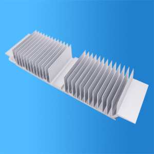 Surface treatment in the production process of insert radiator