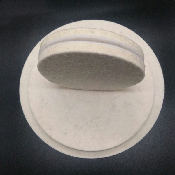 Manufacture 100% wool felt polishing wheel for glass jewelry polishing