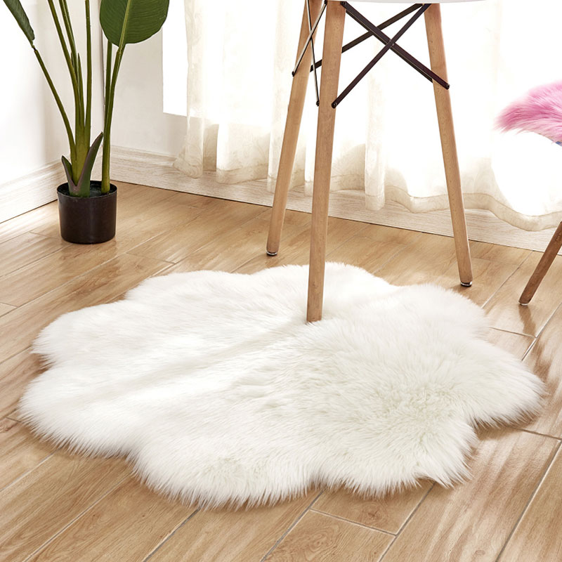 Amazon Selling Home decorative 100% Acrylic faux fur area rugs