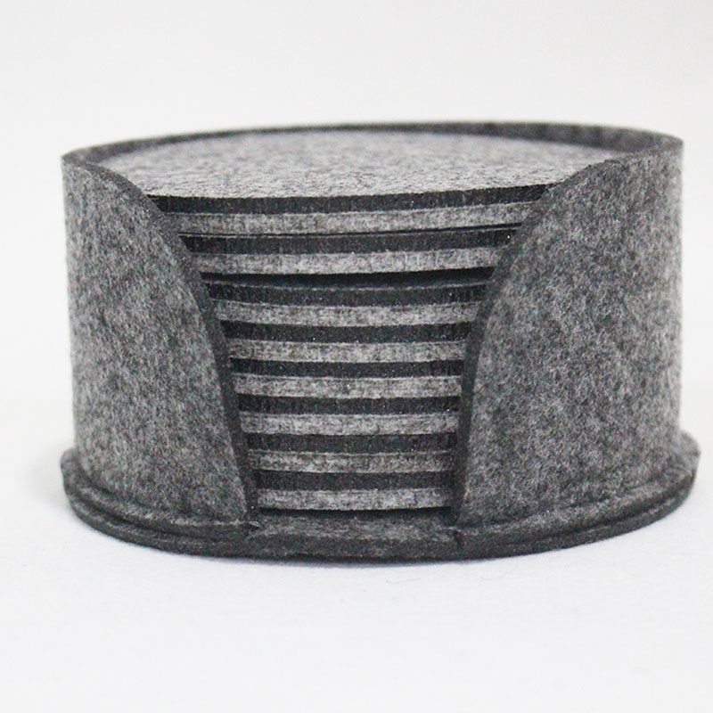 Top quality felt desk cup mat