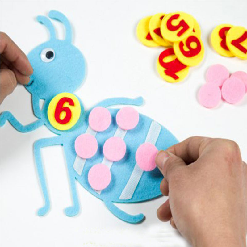 DIY Educational Toys Felt DIY product for children