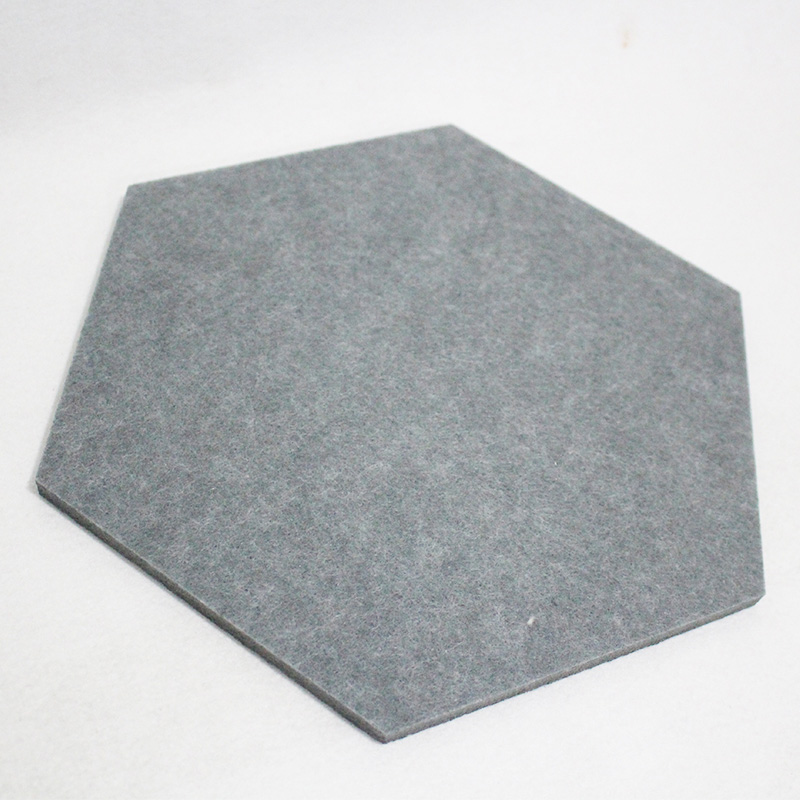 9mm Strong Sound Absorbing 100% Polyester Fiber Acoustic Pane