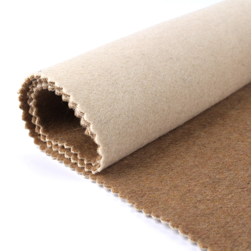 3mm thick 50% wool and 50% polyester soft felt