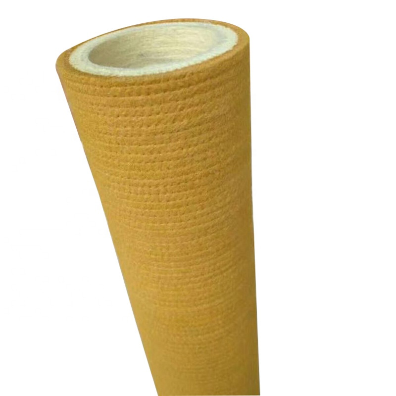 High Quality Aluminum Extrusion Industrial PBO Kevlar Felt Roller