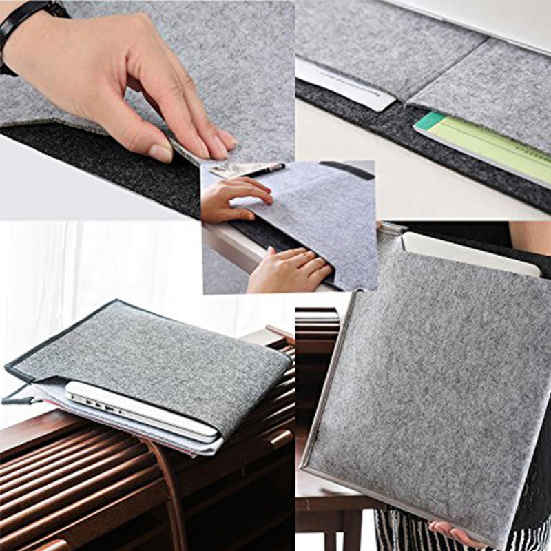 Felt long padded mouse pad game computer desk mat desktop keyboard hand care non-slip hand pad