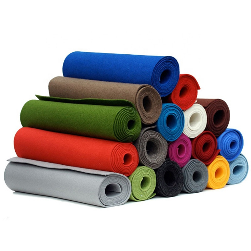 Promotion 100% wool felt fabric rolls merino wool fabric