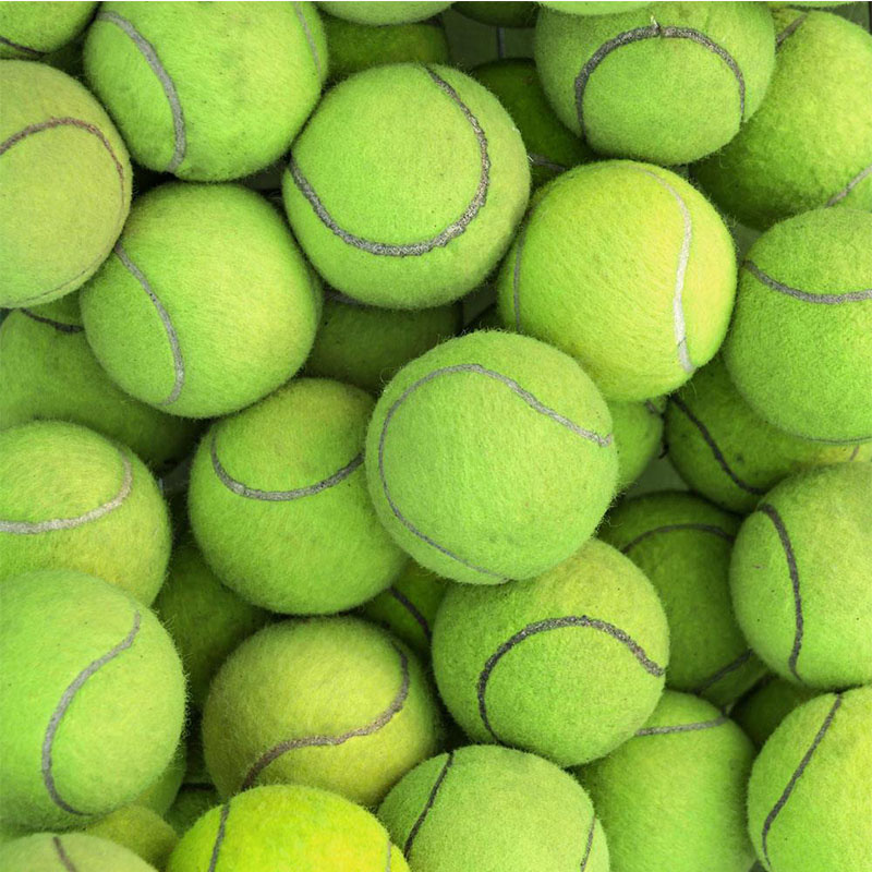 Felt for tennis ball