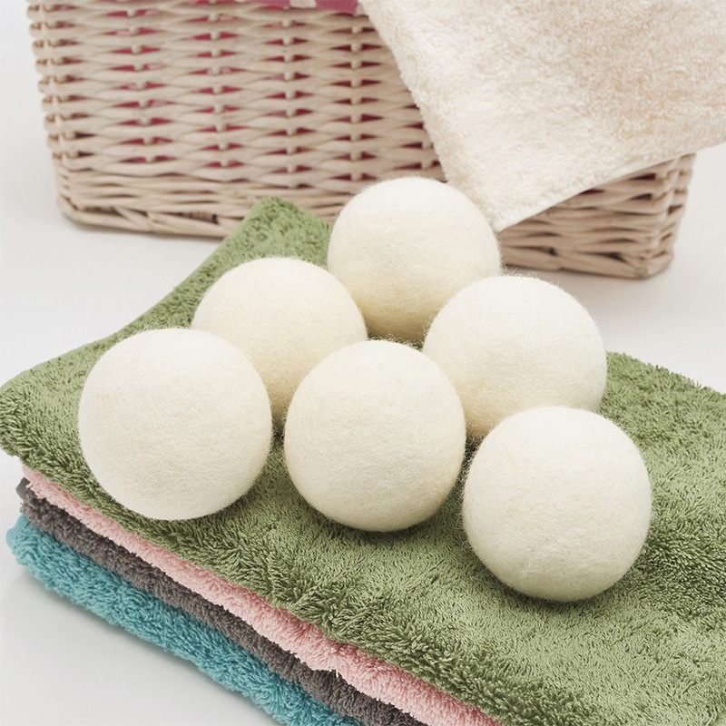 High Quality 100 % Organic Laundry Wool Dryer Balls In Stock