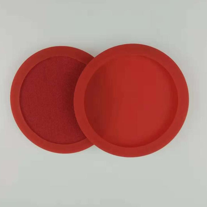 Wholesale Non Slip Fruit Printing Silicone Coaster For Cup Holder