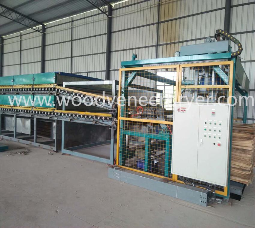 Industri Roller Core Veneer Dryer untuk Burma