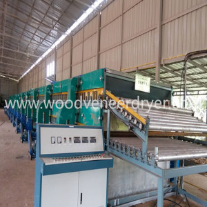 32m 3 Deck Roller Veneer Drying Machine