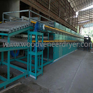 Shine Face Veneer Dryer for Plywood Production Line