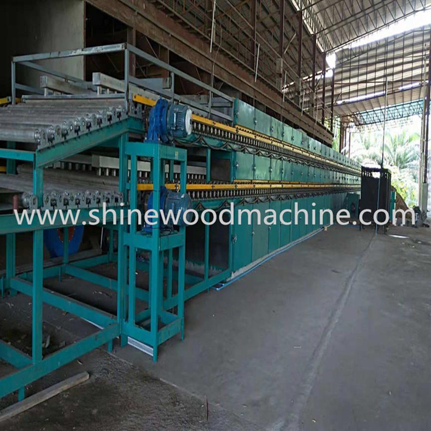 Shine Roller Veneer Dryer Machine for Sale