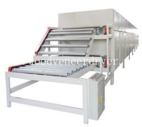 Roller Type Veneer Dryer Machine for Sale