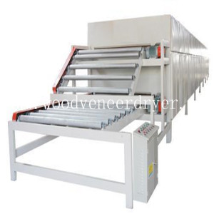 Roller Type Veneer Dryer Machine for Sale