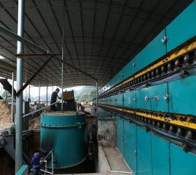 Automatic Veneer Drying Roller Machine