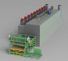 Best Dryer of Choice-Biomass Veneer Roller Dryer