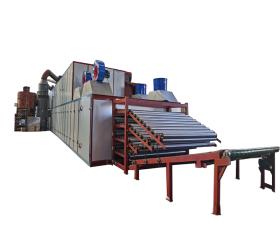 Wood Veneer Roller Dryer and Plywood Making Machines