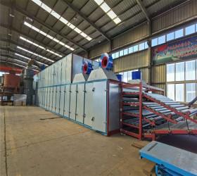 High-tech 4 Deck Roller Veneer Dryer