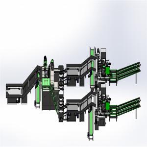 High Speed 4Feet Veneer Peeler Machine