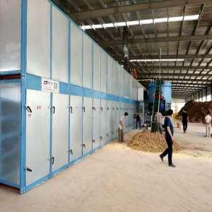 Lower Energy Consumption 3 and 4 Deck Veneer Dryers