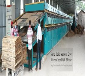 New Type Veneer Drying Machine on Biomass Burner