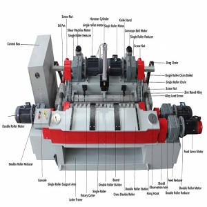 valuable log peeling rotary machine wood face and core veneer spindleless peeling lathe for plywood equipment machine
