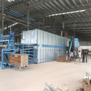 roller type Core Veneer Dryer/Plywood Drying Machine/Veneer Board drying Machine
