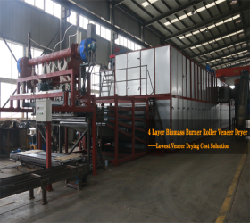 Shine Veneer Drying Machine Has Good Drying Quality