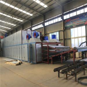 Roller Veneer Dryer 4 deck Occupies Small Floor Space