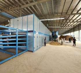 High-end Automatic Veneer Roller Dryers