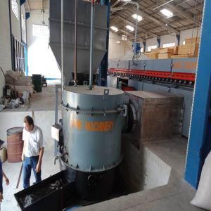 Biomass Burner Heated Roller Dryer Solves a Headache Problem for woodworking companies