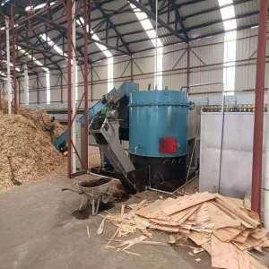 Direct Burning of Wood Chips Fired Veneer Dryer Machine
