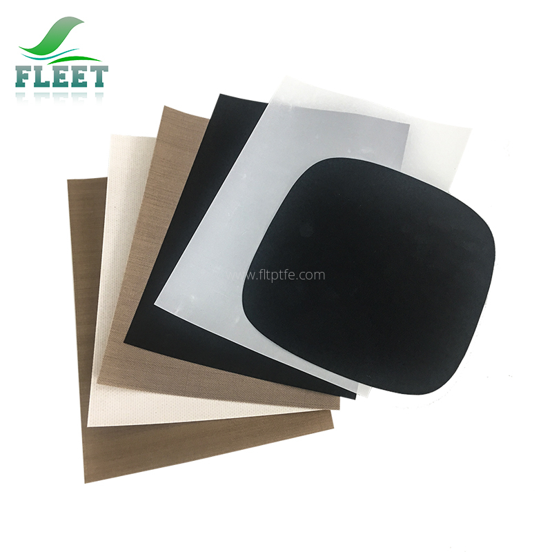 Non-stick Smooth Surface Ptfe Coated Fiberglass Cloth for Paints Adhesive and Food Industry