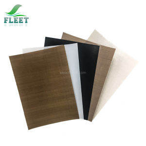 Disposable Black PTFE Teflon Fiberglass Fabric and Cloth