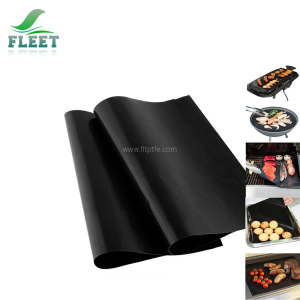 Disposable Black Nonstick BBQ Grill Mat