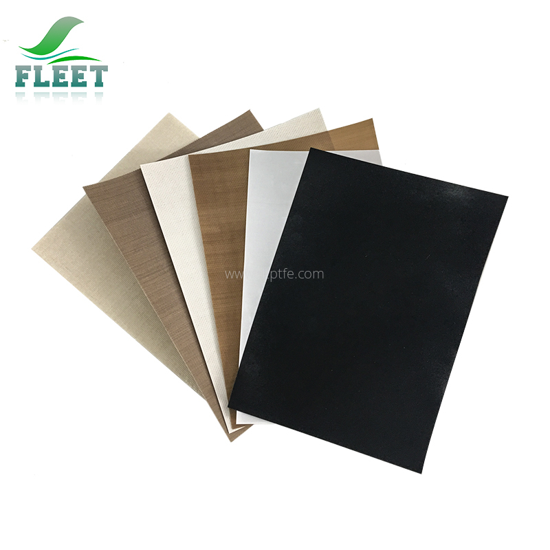 Heat Insulation PTFE Teflon E-Glass Fiber Cloth with Free Sample