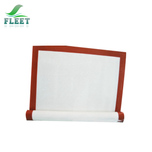 Custom Heat Resistant Non Stick Silicone Rubber Plate Mat