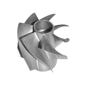 Silica sol casting stainless steel pump parts impeller