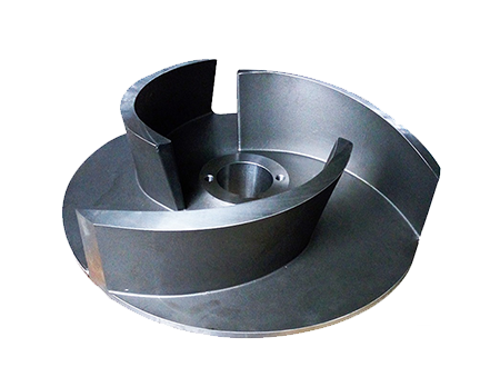 Lost wax casting impeller for slurry pump