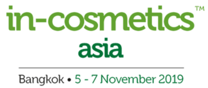 In-cosmetics Asia (Nov.5 – 7, 2019)
