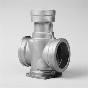 Metal casting for pipe