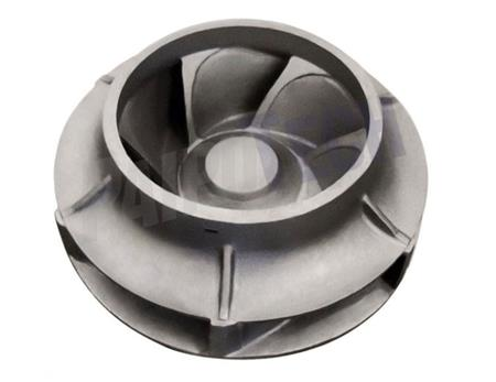 China metal investment casting pump impeller casting